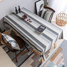 Home Brilliant Wterproof Tablecloth Rectangular
