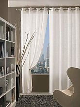 Home Collection c4512rs280Curtain Doha