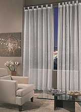Home Collection DOR119 Doriana Curtain, Polyester,