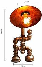 Home Creativity Steampunk Tube Table Lamp Vintage