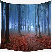 Home Decor Tree Landscape Mandala Tapestry Forest