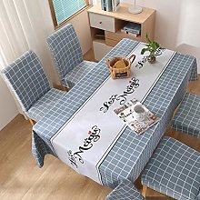 Home decoration tablecloth PVC waterproof and