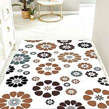 Home Decoration white multi coloured rug Creative