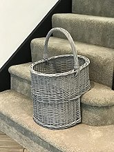 Home Delights Gorgeous Grey Wicker Staircase