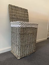 Home Delights Regular Grey Laundry Basket With