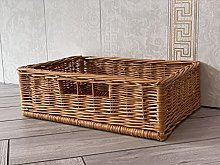 Home Delights Wicker Display Storage Basket