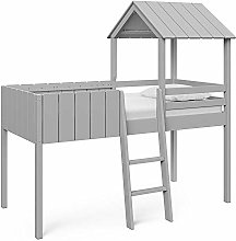 Home Detail Childrens Cabin Bed Frame Mid-Sleeper