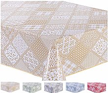 Home Direct Large Rectangular Oilcloth PVC Wipe