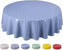 Home Direct Round Oilcloth PVC Wipe Clean