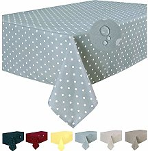 Home Direct Stain Resistant Fabric Tablecloth