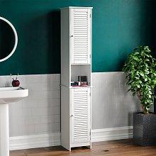 Home Discount - Liano 2 Door Tall Cabinet