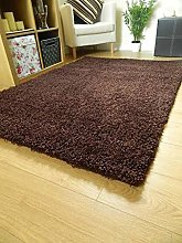 Home Essential SHAGGY RUG Long Thick 5cm Pile Rugs