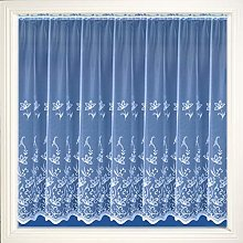 HOME-EXPRESSIONS Amy White Net Curtain Embroidered