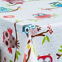 HOME-EXPRESSIONS Modern Owls On Tree Pvc Wipe