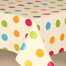 HOME-EXPRESSIONS Polka Dot Multi Coloured Pvc Wipe