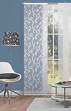 Home Fashion Arol Voile Panel Curtain, Polyester,