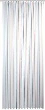 Home Fashion Curtain, fabric, Copper, 145 x 500 cm