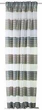 Home Fashion Curtain Fabric, Fabric, Green, 225 x