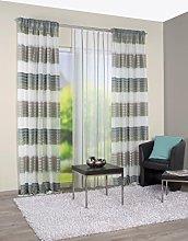 Home Fashion Curtain Fabric, Fabric, Green, 245 x