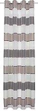 Home Fashion Eyelet Curtain, Grey