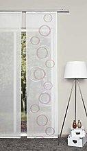 Home Fashion Scherli 084230-0707 Sliding Curtain