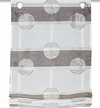 Home Fashion Scherli Simana Sliding Curtain Linen