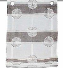 Home fashion Scherli Simana Sliding Curtain Linen