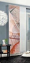 Home Fashion Sliding Panel Curtain BLATTARI,