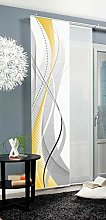 Home Fashion Sliding Panel Curtain CARLISE,