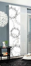 Home Fashion Sliding Panel Curtain Dotti,