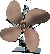 Home Fireplace Fan 4 Blades Fireplace Fan Heat