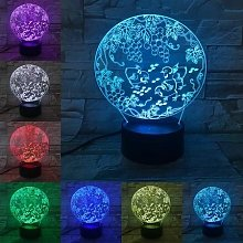 Home Furnishing 3D Night Light Creative Pastoral