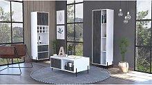 Home Furniture Ideas - tall bar cabinet
