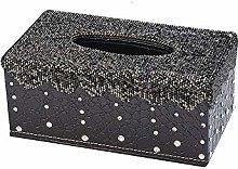 Home & Gardenshiny Diamond Car Tissue Box Cover