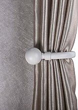 Home Harmony Decorative Curtain Holdbacks Wall