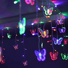 Home Holic Led Fairy Curtain Lights Butterfly
