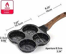 Home Kitchen 4-Hole Non-Stick Breakfast Omelette