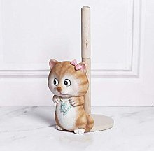 Home & Kitchencute Cat Paper Roll Holder Home Mini