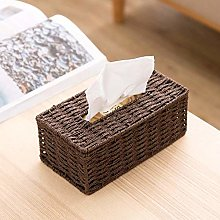 Home & Kitchenrattan Tissue Box Retro Napkin
