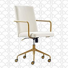 Home Office Chair Light Gray Light Gray