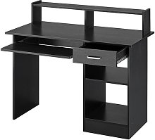 Home Office Computer Desk with Drawers Storage