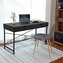 Home Office Computer Table Study Desk with 2