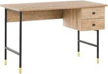 Home Office Desk 120 x 60 cm Light Wood ABILEN