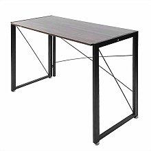 Home Office Desk, Simple Modern Folding Computer