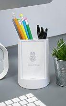 Home Office Storage Phone Holder Pen Pot Desk Tidy