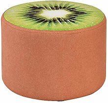 Home Office Upholstered Footstool Pouffes Footrest