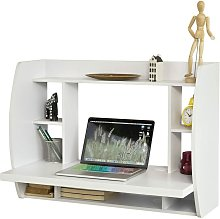 Home Office Wall-mounted Table Desk with