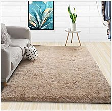 Home Rug Modern Shaggy Carpet Living Room Coffee