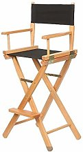 Home Solid Wood Director's Chair Foldable