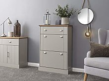 Home Source 12 Pair Shoe Cabinet Storage Cupboard